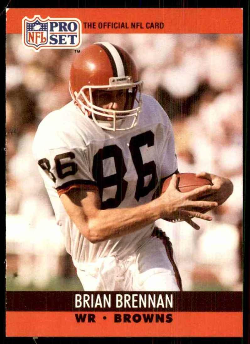 1990 Pro Set Brian Brennan #470 card front image