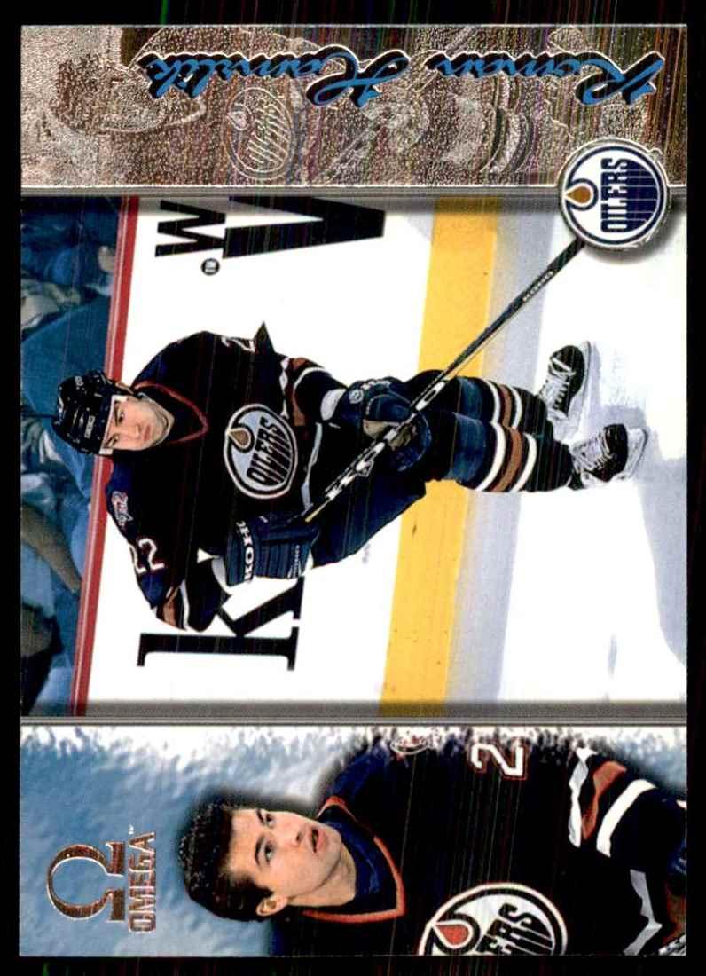 1997-98 Pacific Omega Roman Hamrlik #92 card front image