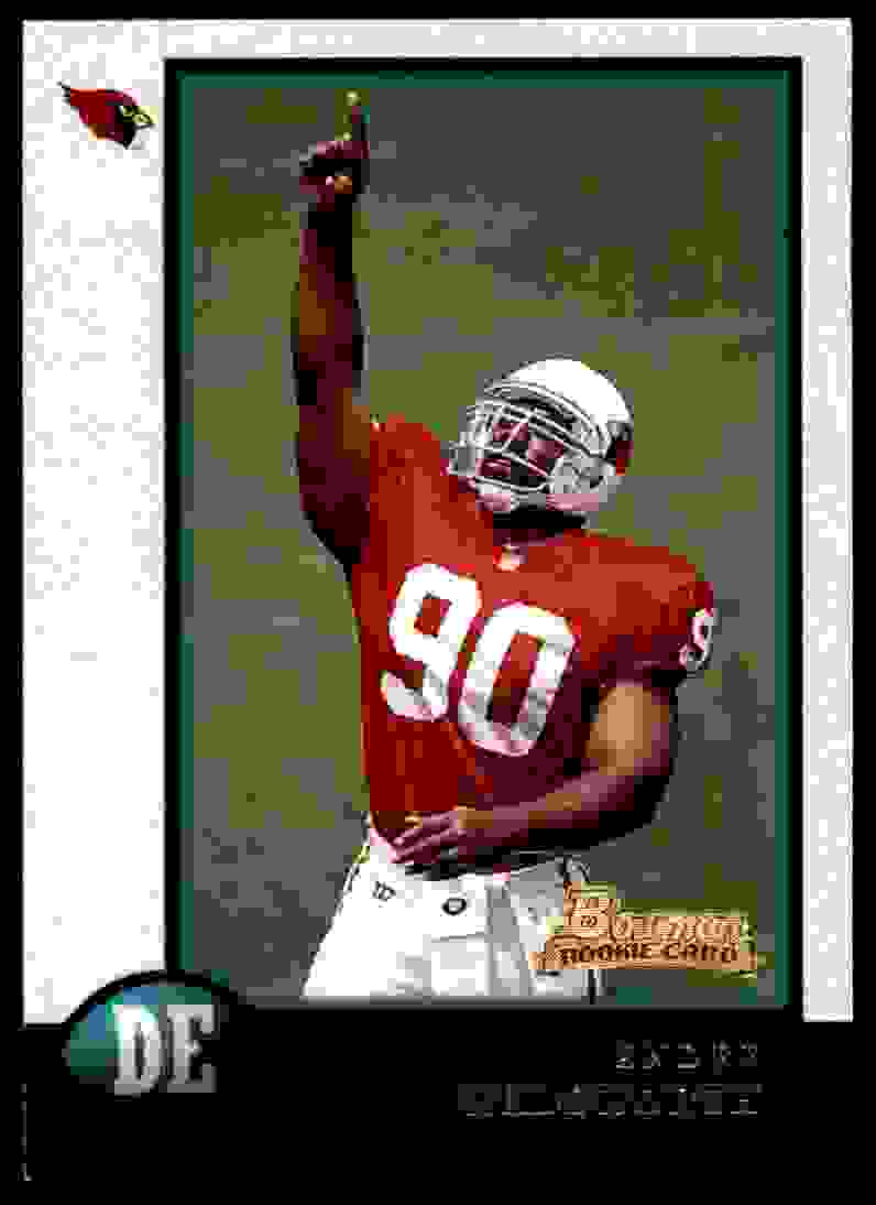 1998 Bowman Andre Wadsworth #5 card front image