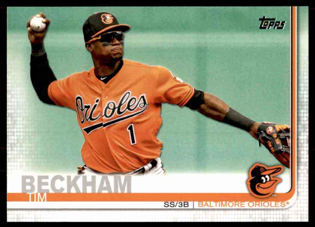 2019 Topps Tim Beckham #282 card front image