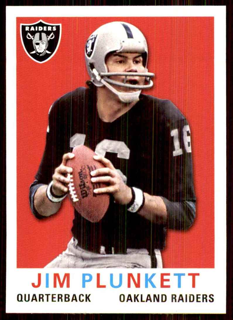 2013 Topps Archives Jim Plunkett #190 card front image