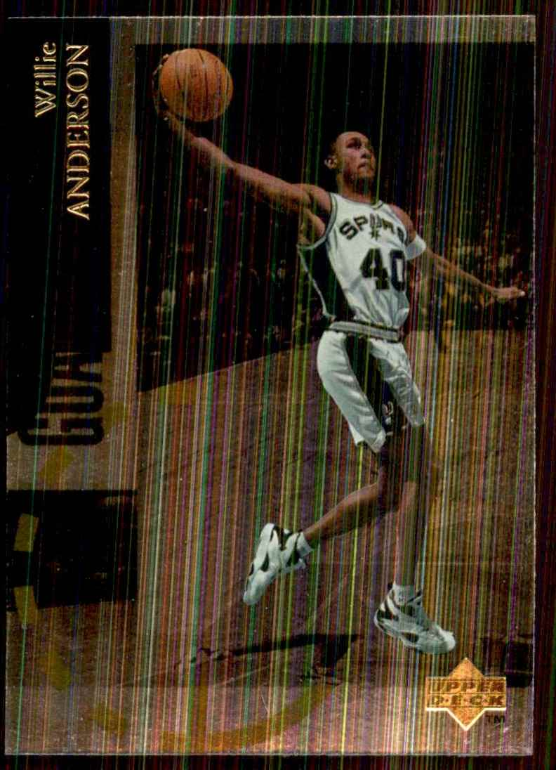 1994-95 Upper Deck Special Edition Willie Anderson #78 card front image