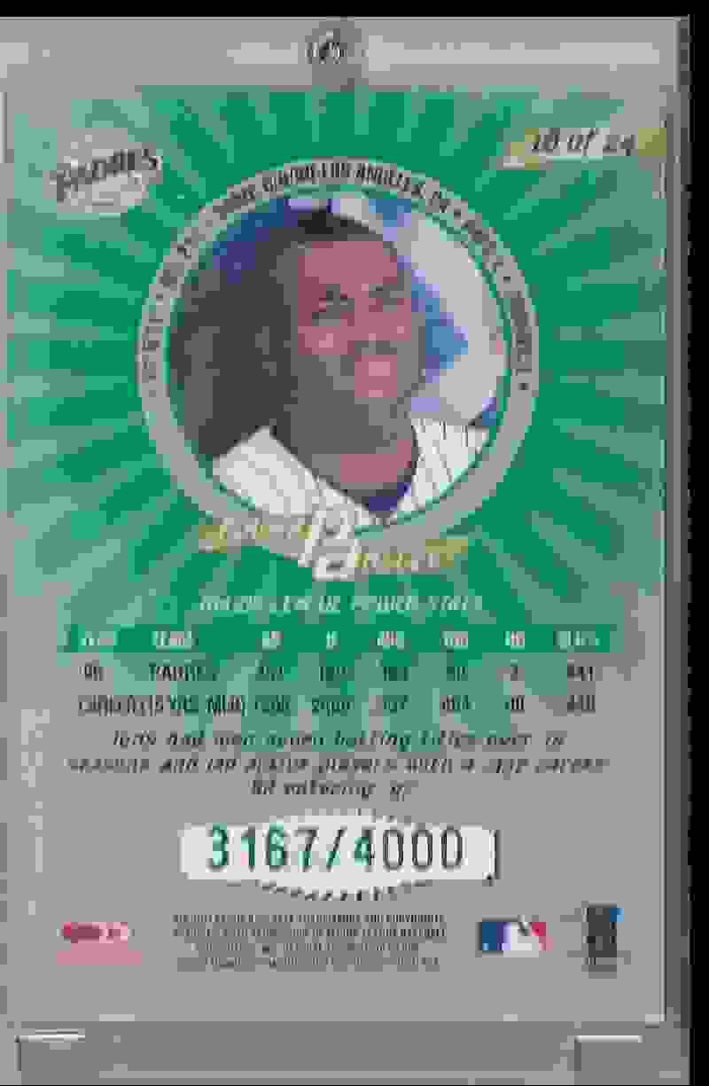 1997 Donruss Power Alley Tony Gwynn #18 card back image