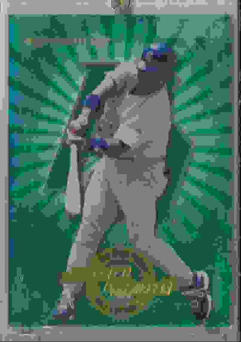 1997 Donruss Power Alley Tony Gwynn #18 card front image
