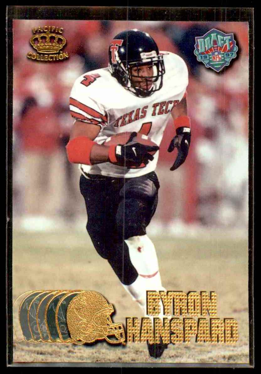 1997 Pacific Byron Hanspard #435 card front image