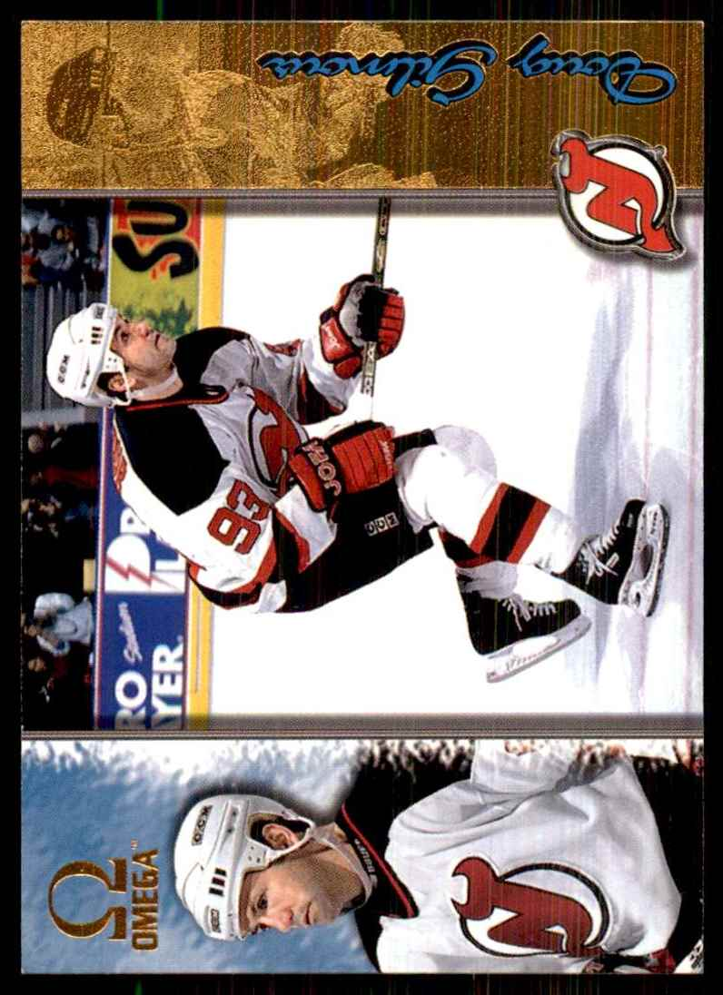1997-98 Pacific Omega Gold Doug Gilmour #129 card front image