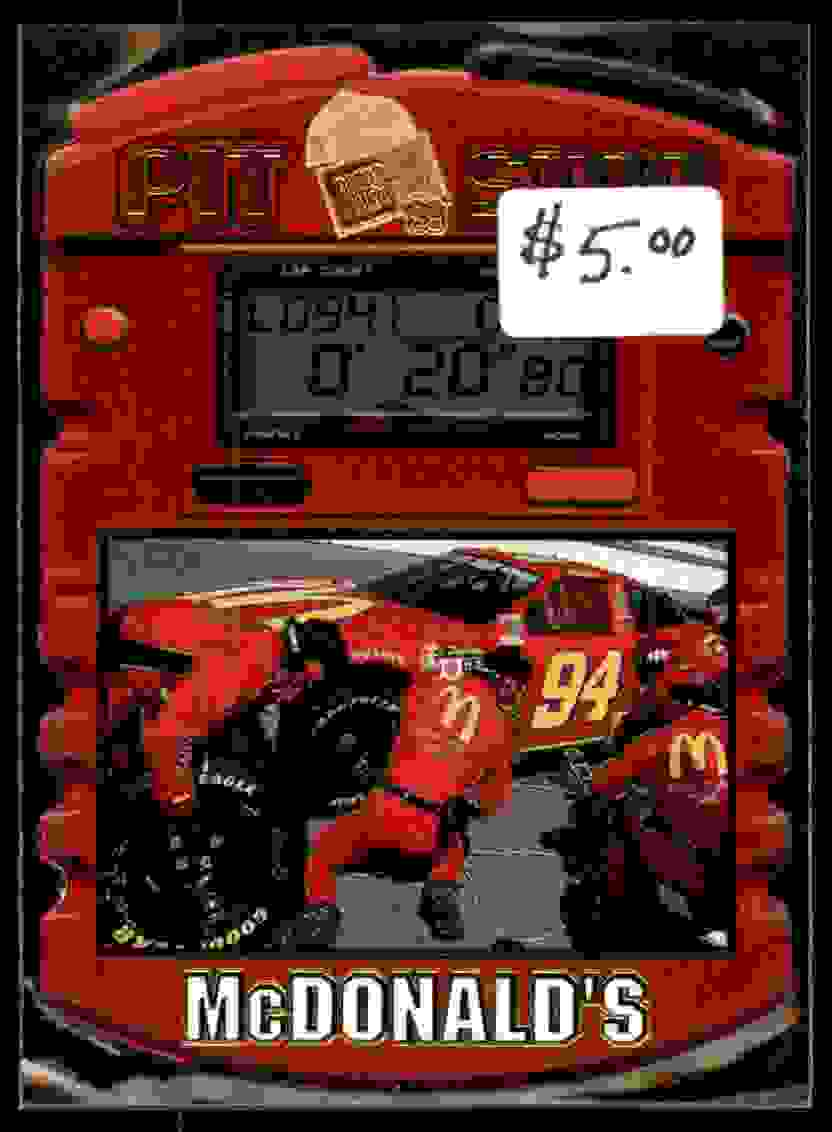 1999 Press Press Pit Stop Bill Elliot #17 card front image