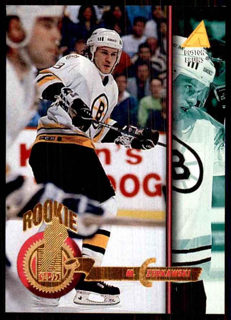 1994-95 Pinnacle Mariusz Czerkawski RC #246 card front image