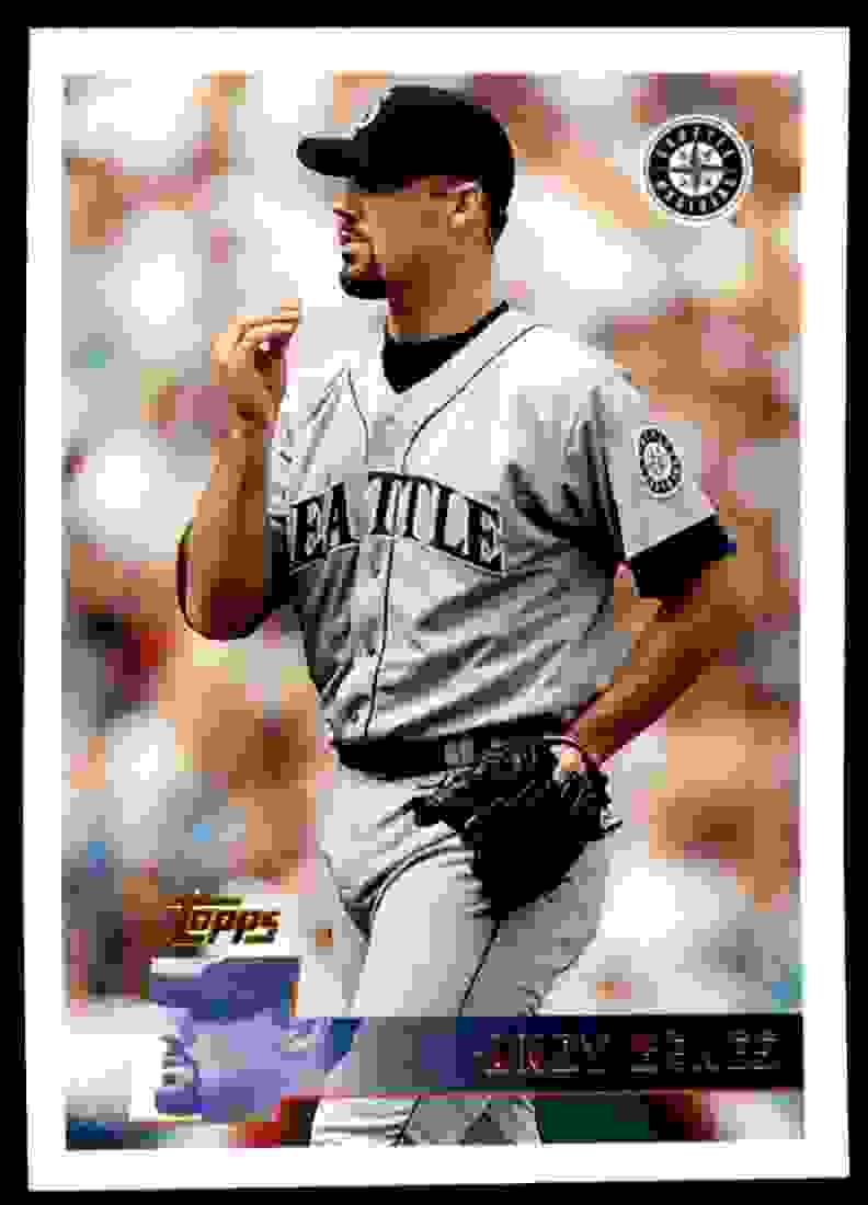 1996 Topps Andy Benes #314 card front image