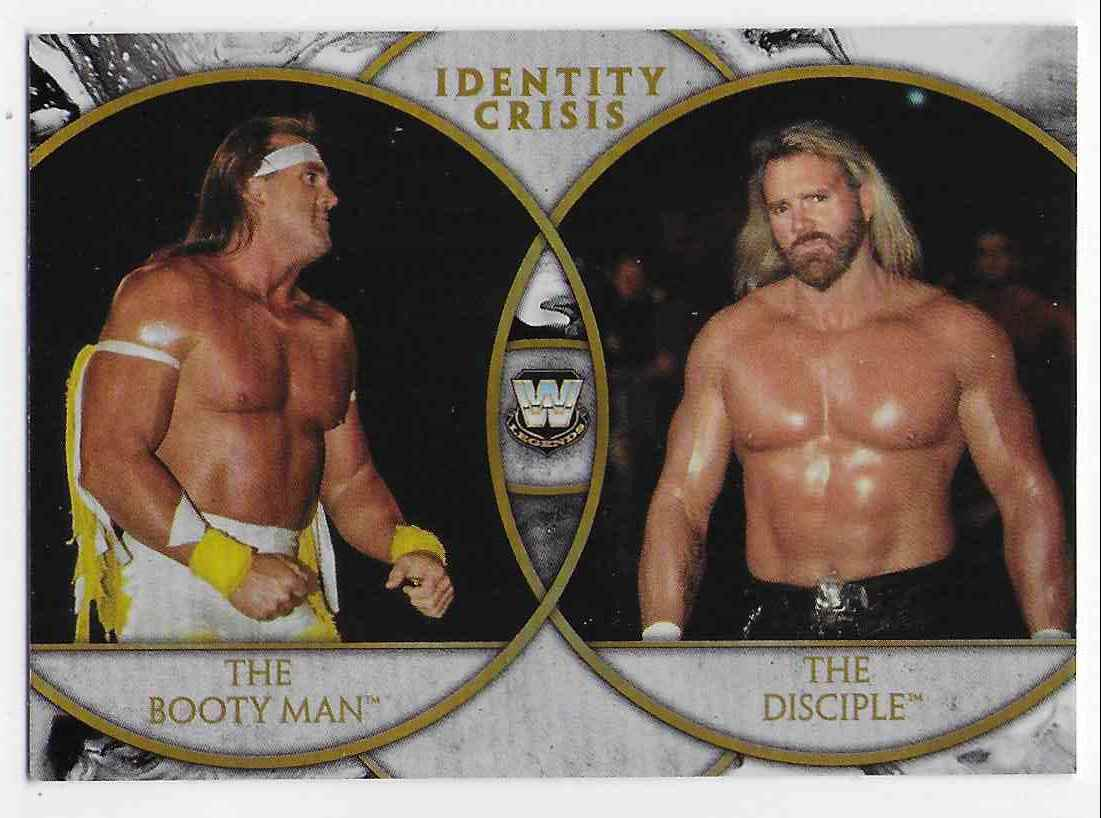 2018 Legends Of Wwe Identity Crisis The Booty Man & The Disciple #5 card front image