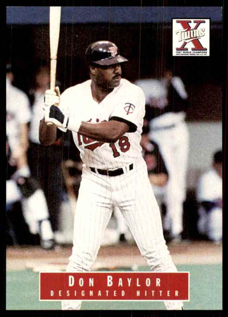 1988 Marquette Banks Don Baylor #18 card front image
