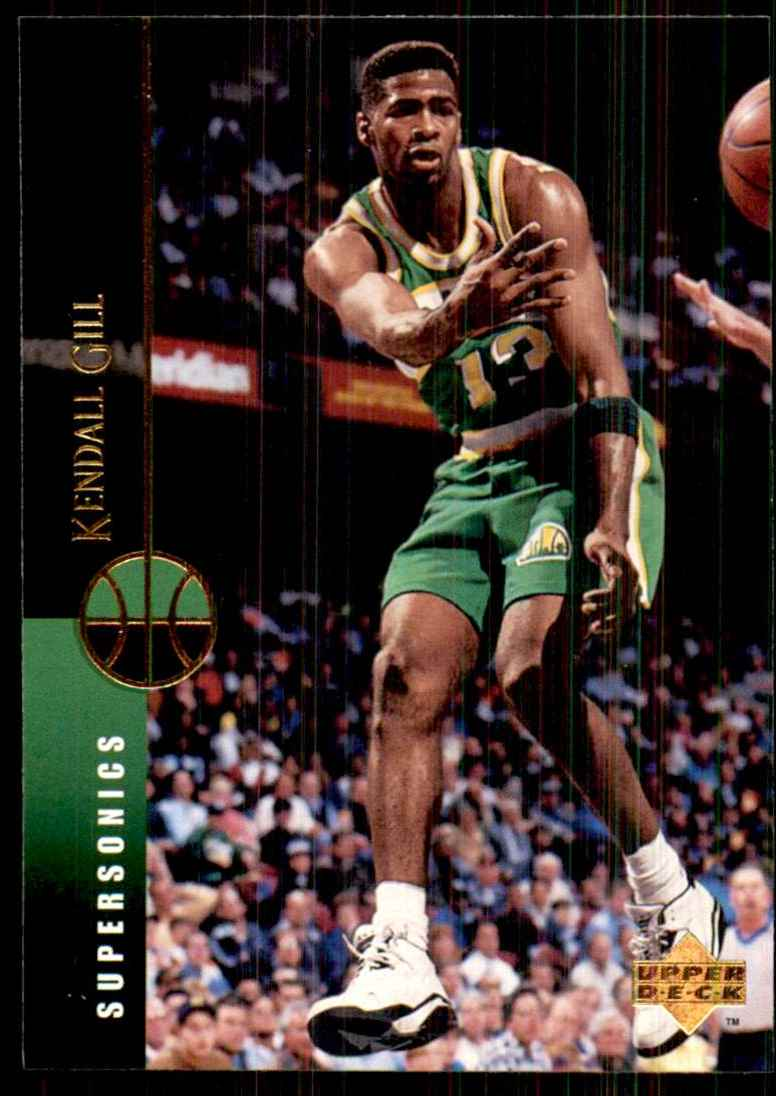 1994-95 Upper Deck Kendall Gill #38 card front image
