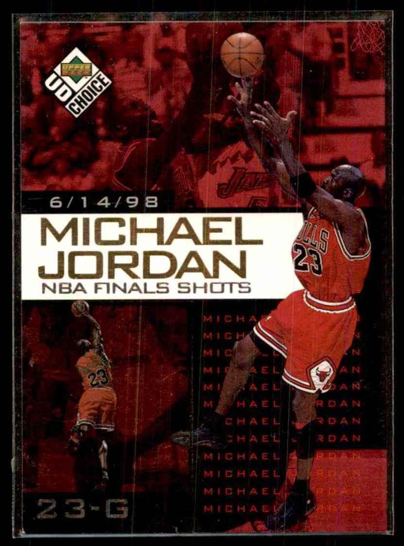 online store 9cf28 e0481 1998-99 UD Choice Preview Michael Jordan NBA Finals Shots ...