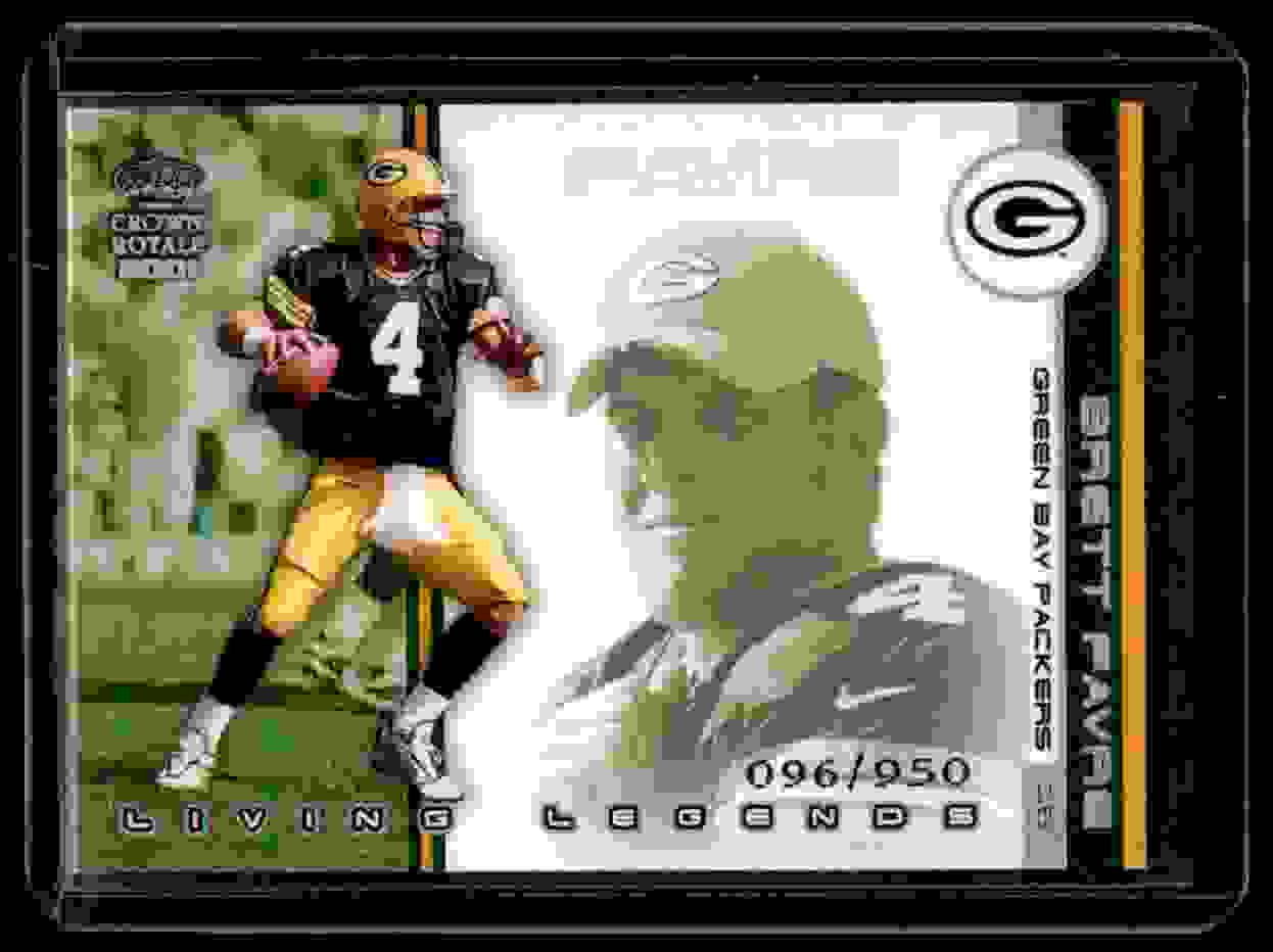 2001 Pacific Crown Royale Living Legends Brett Favre #6 card front image