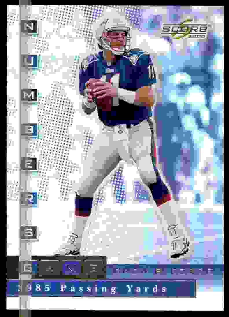 2000 Score Numbers Game Drew Bledsoe #NG24 card front image