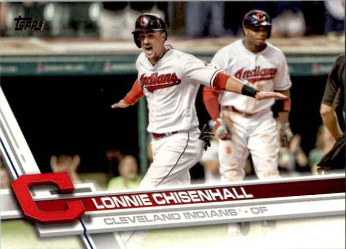 2017 Topps Series 2 Lonnie Chisenhall #535 card front image