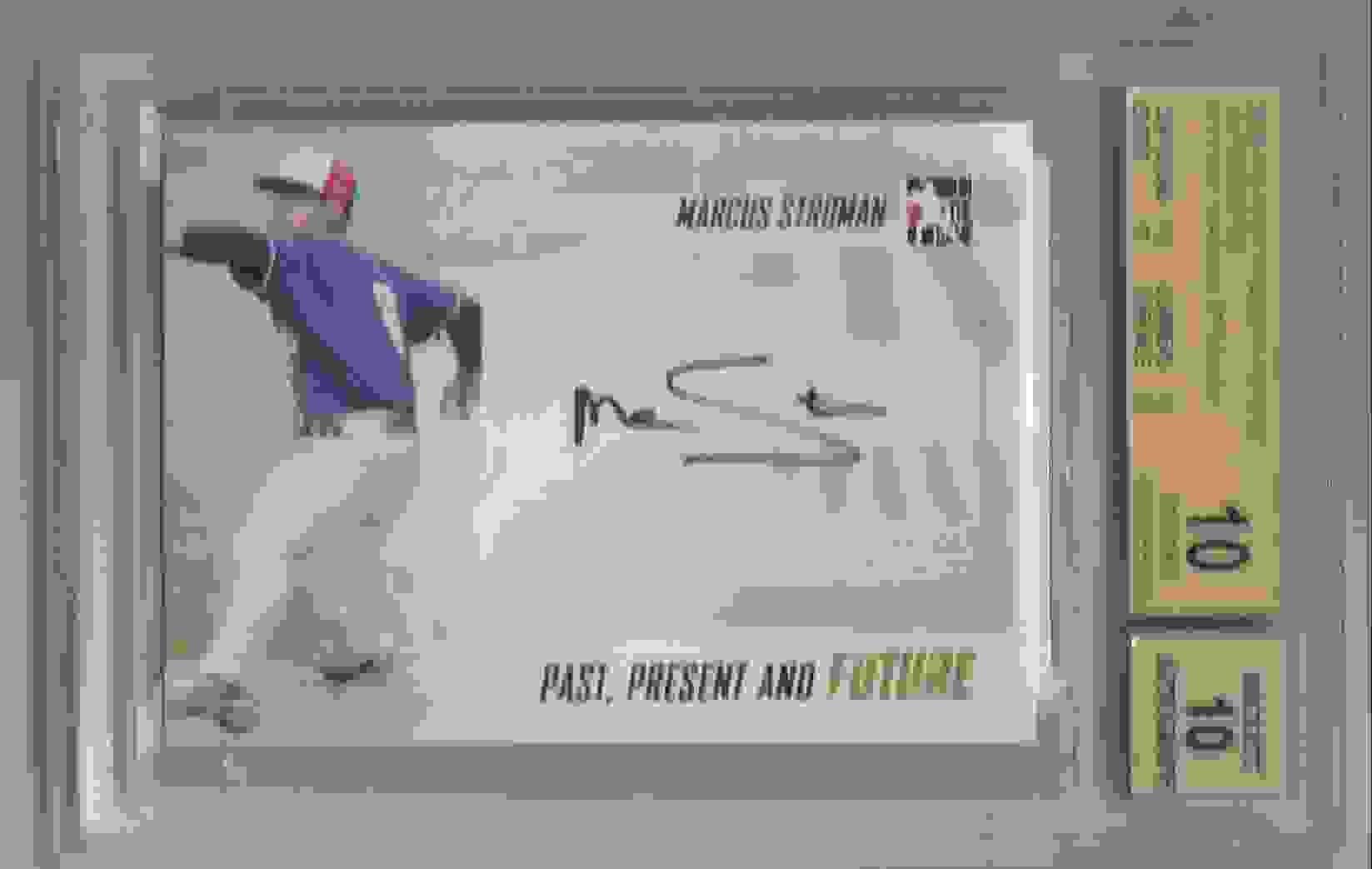 2014 ITG Past Present Future Autographs Marcus Stroman #PPF-MS1 card front image