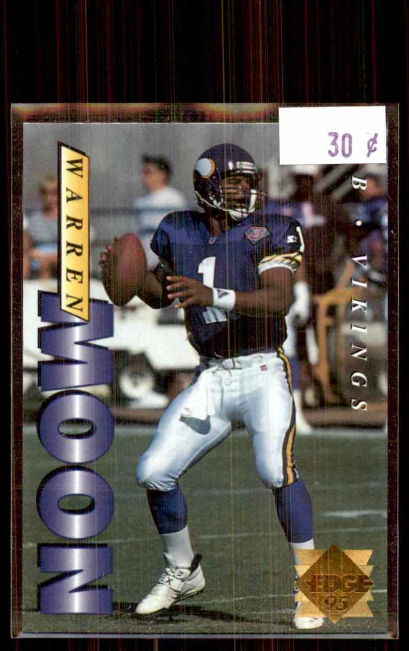 1995 Collector's Edge Gold Logo Warren Moon #124 card front image