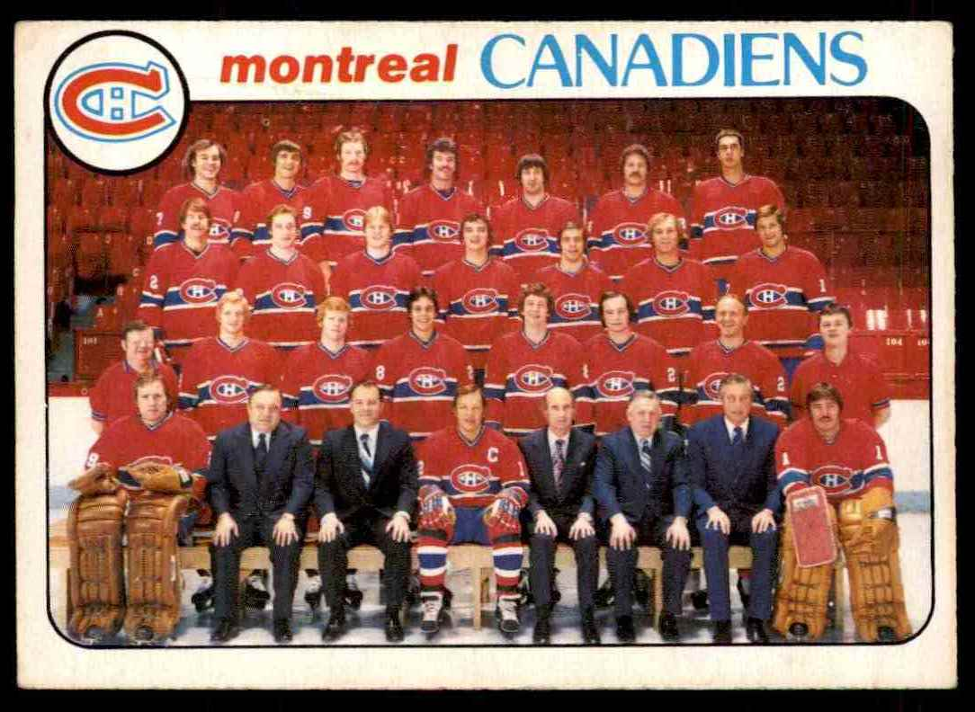 1978-79 O-Pee-Chee Montreal Canadiens #200 card front image