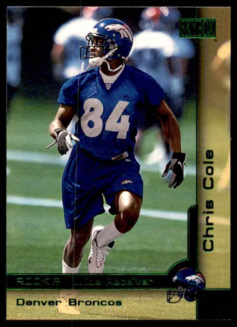 2000 Skybox Chris Cole #229 card front image