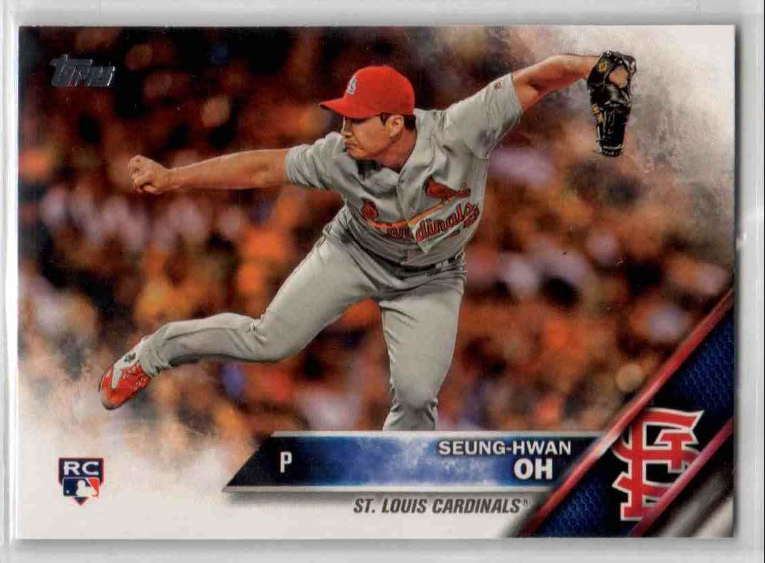 2016 Topps Update Seung-Hwan Oh #US258 card front image