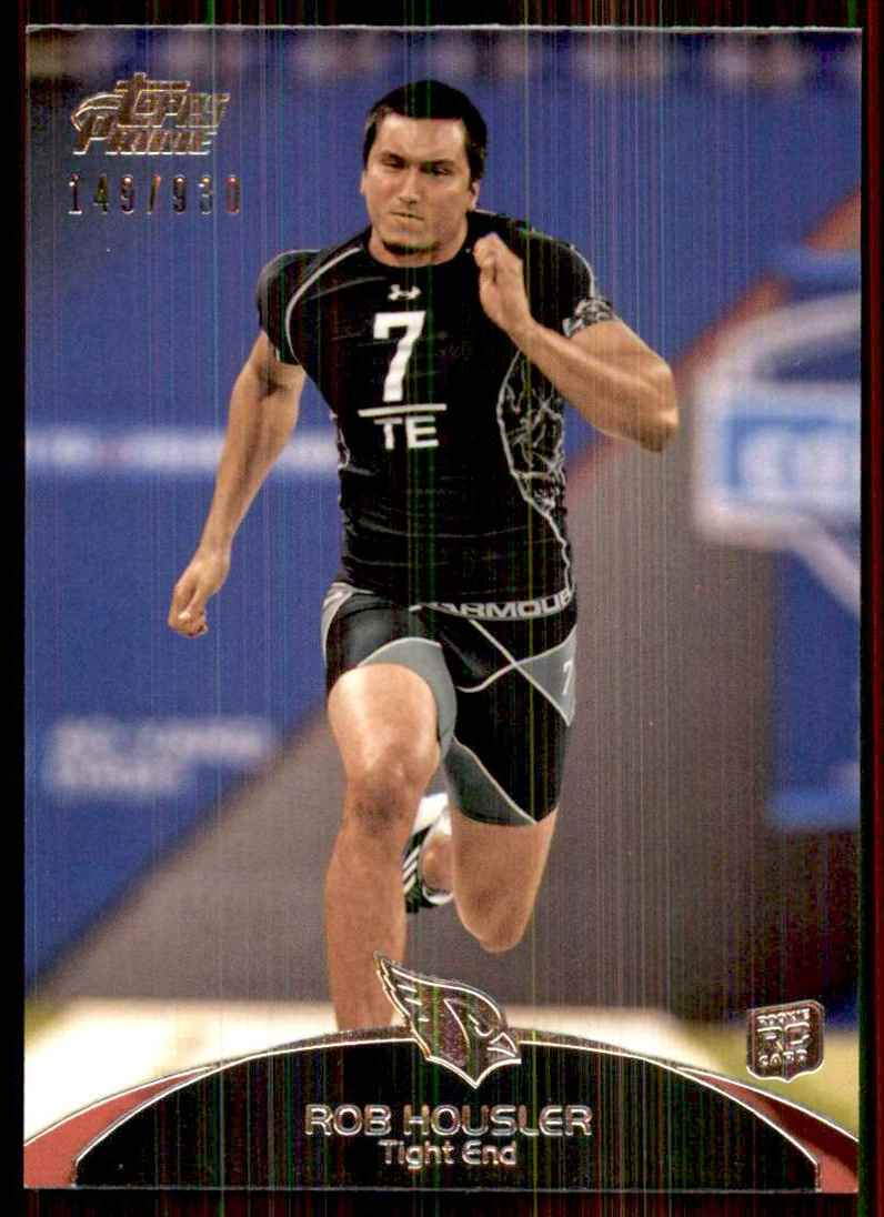 2011 Topps Prime Rob Housler RC #12 card front image