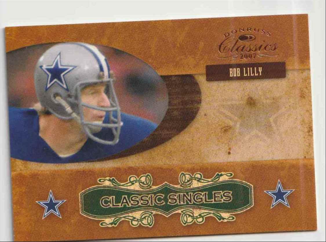 2007 Donruss Classics Bob Lilly #CS1 card front image