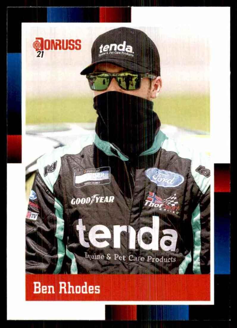 2021 Donruss Ben Rhodes Retro #147 card front image