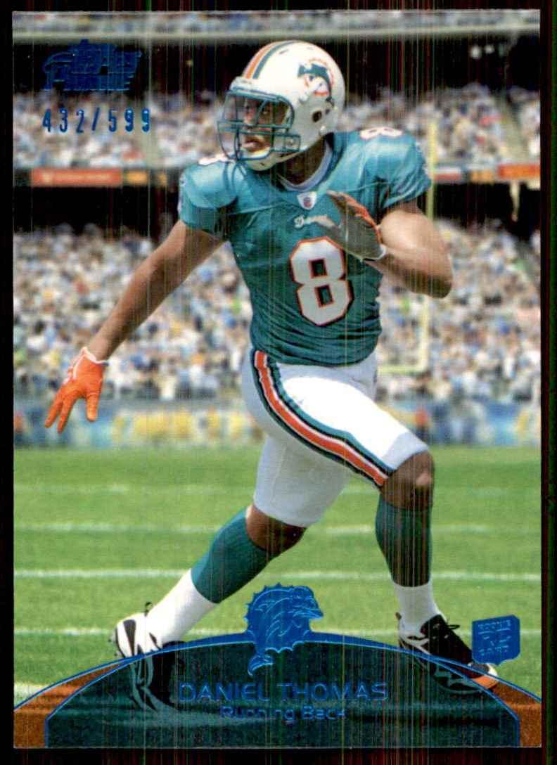 2011 Topps Prime Blue Daniel Thomas #117 card front image
