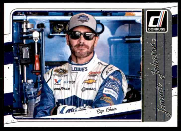 2017 Donruss Jimmie Johnson #131 card front image