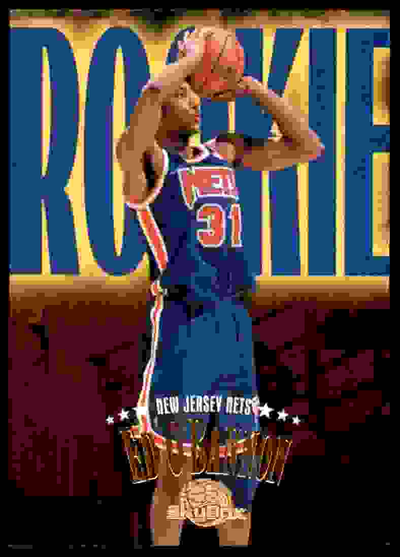 1995-96 Skybox Premium Ed O'Bannon RC #234 card front image