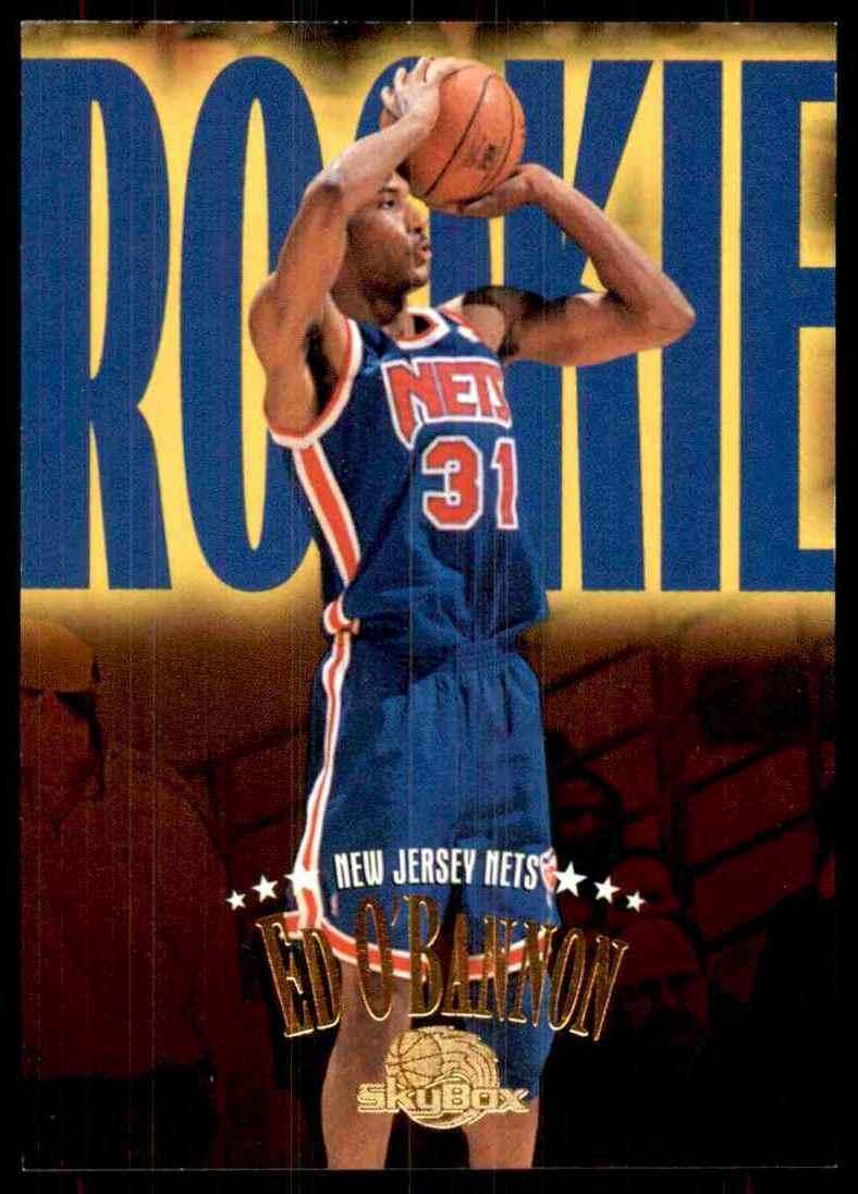 1995-96 Skybox Premium Ed O'Bannon RC #234 card front image
