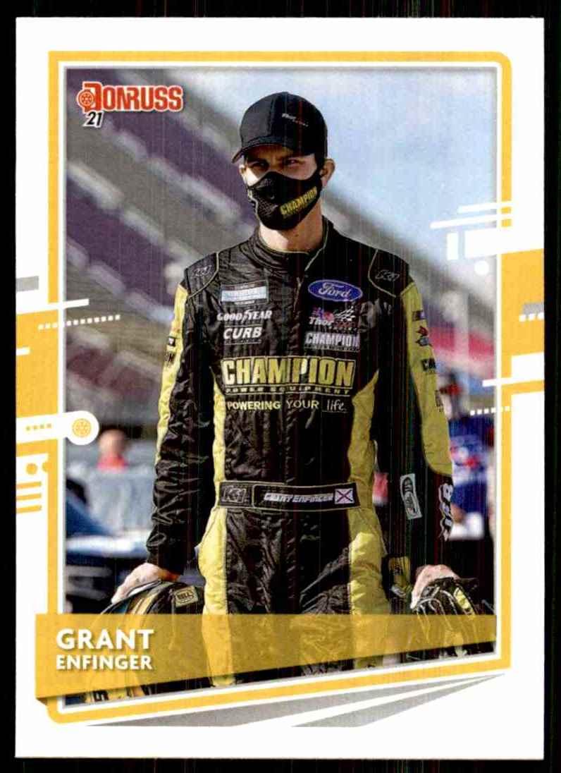 2021 Donruss Grant Enfinger #107 card front image