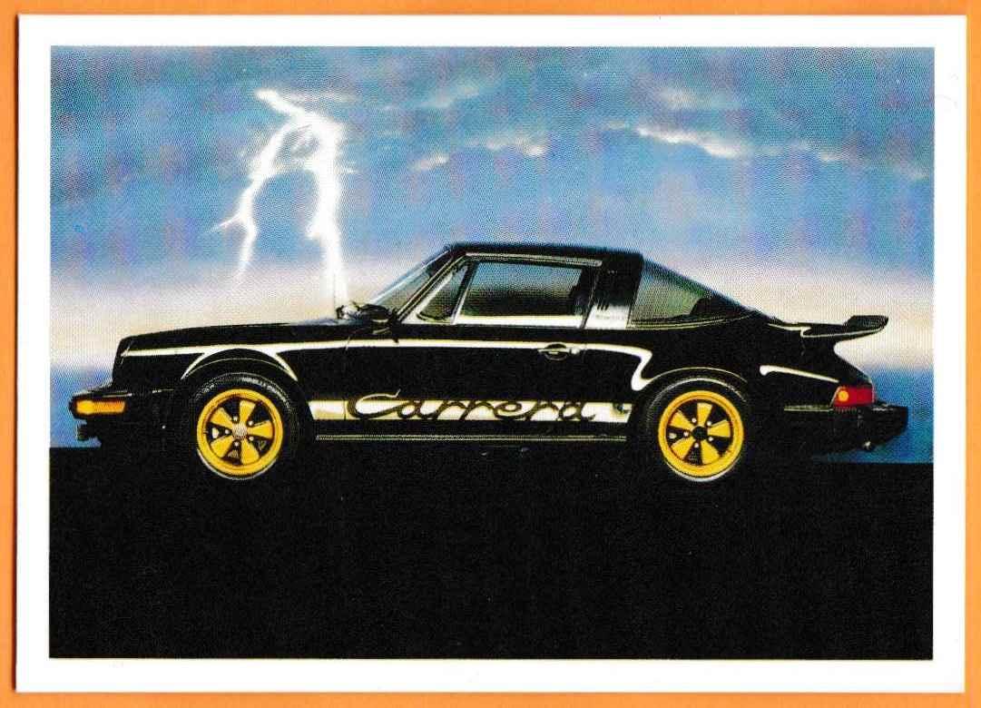 1991 Vintage Sports Cars Vintage Sports Cars Porsche Carrera #73 card front image