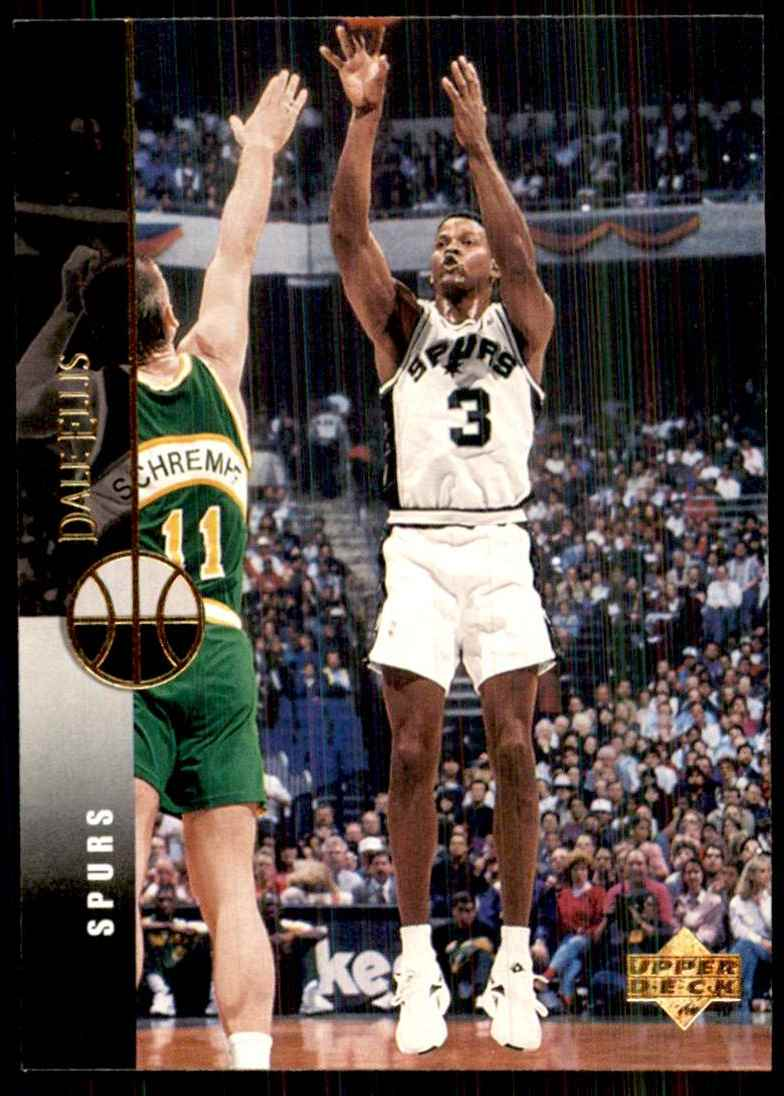 1994-95 Upper Deck Dale Ellis #116 card front image