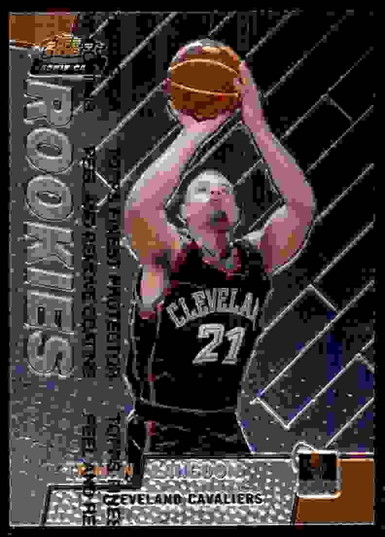 1999-00 Finest Trajan Langdon RC #116 card front image
