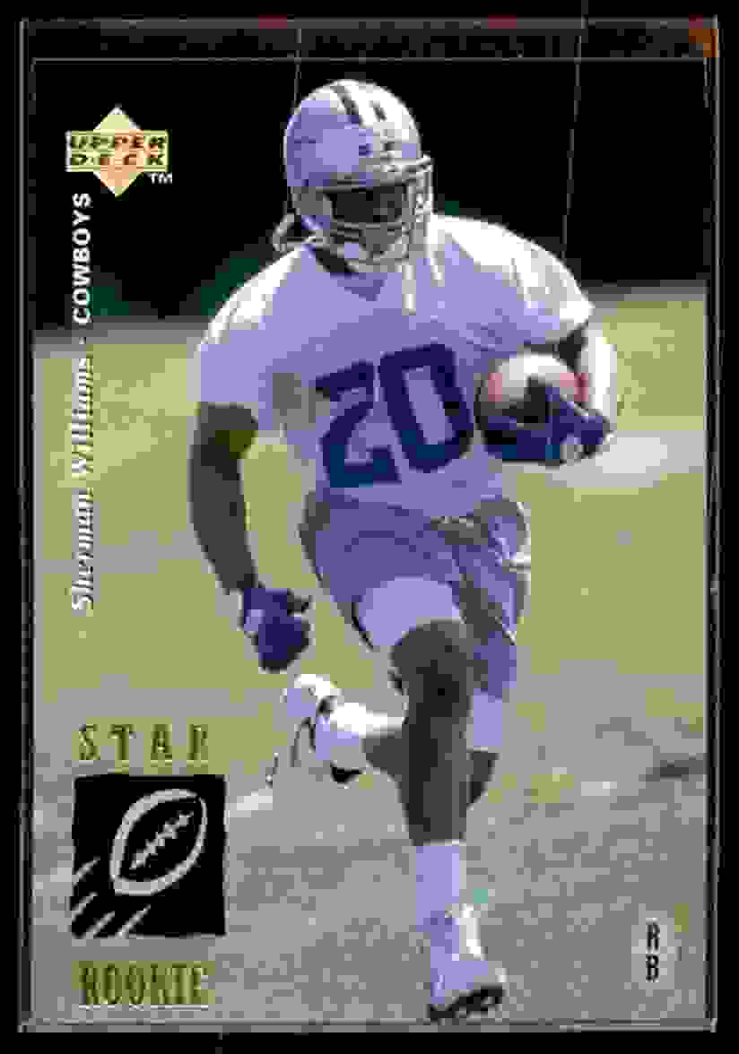 1995 Upper Deck Sherman Williams #25 card front image