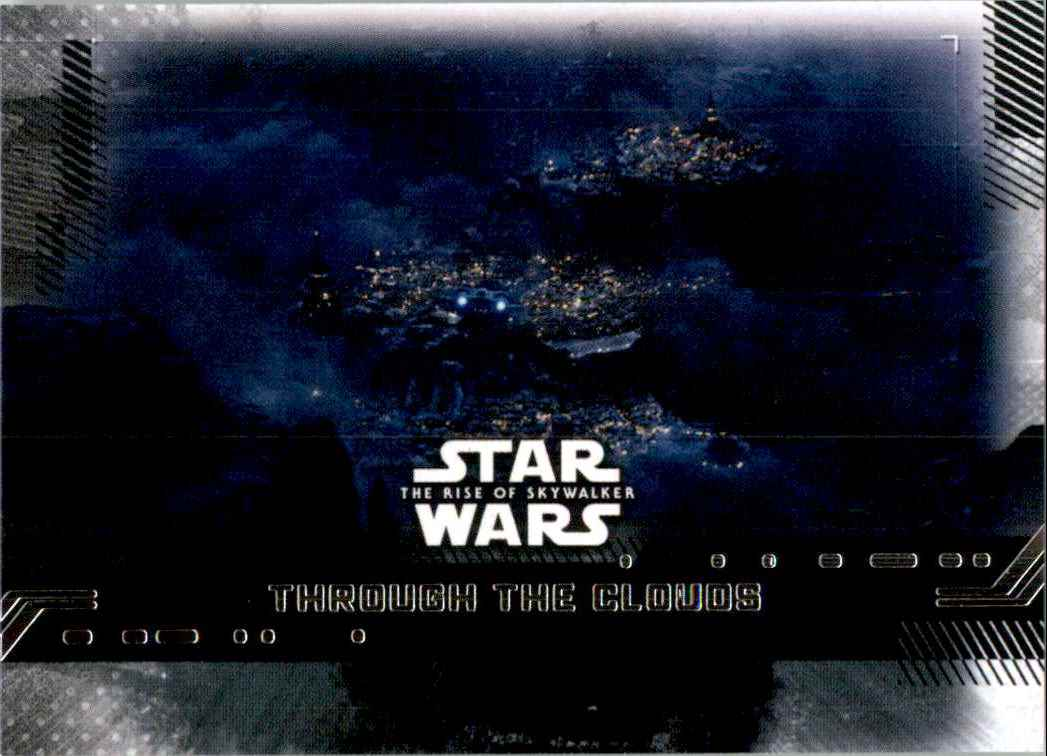 2019 Star Wars The Rise Of Skywalker Series One Through The Clouds #64 card front image