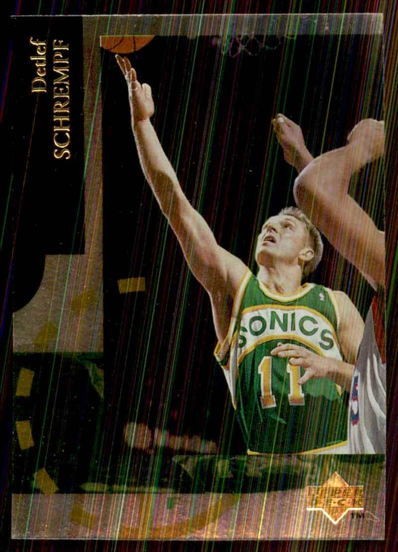 1994-95 Upper Deck Special Edition Detlef Schrempf #84 card front image