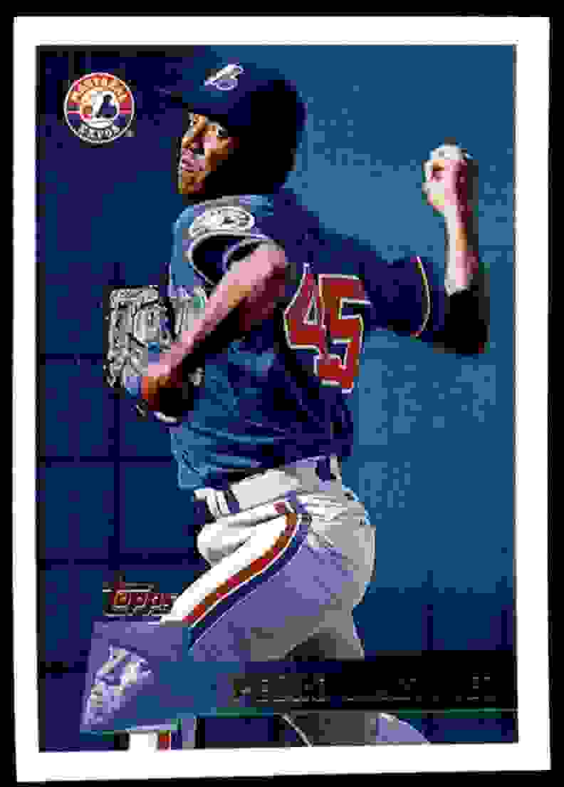 1996 Topps Pedro Martinez #303 card front image