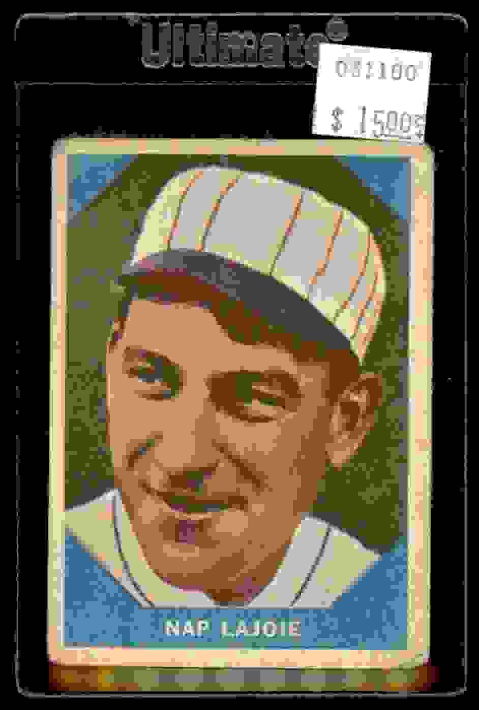1960 Fleer Nap Lajoie #1 card front image