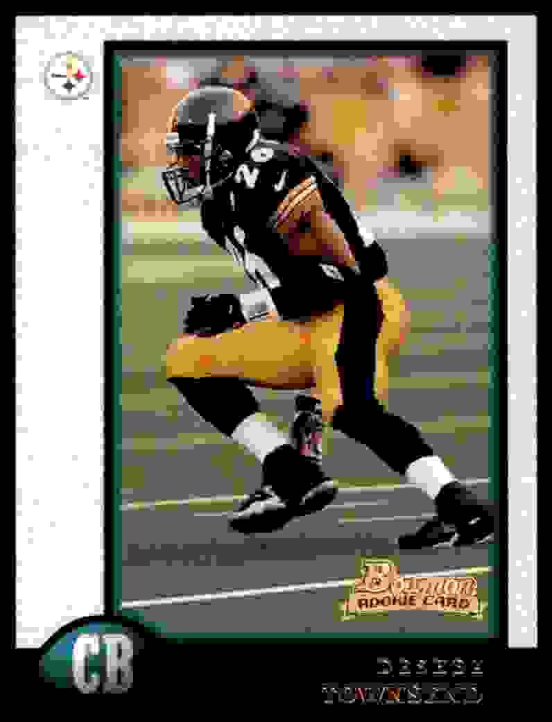 1998 Bowman Deshea Townsend #211 card front image