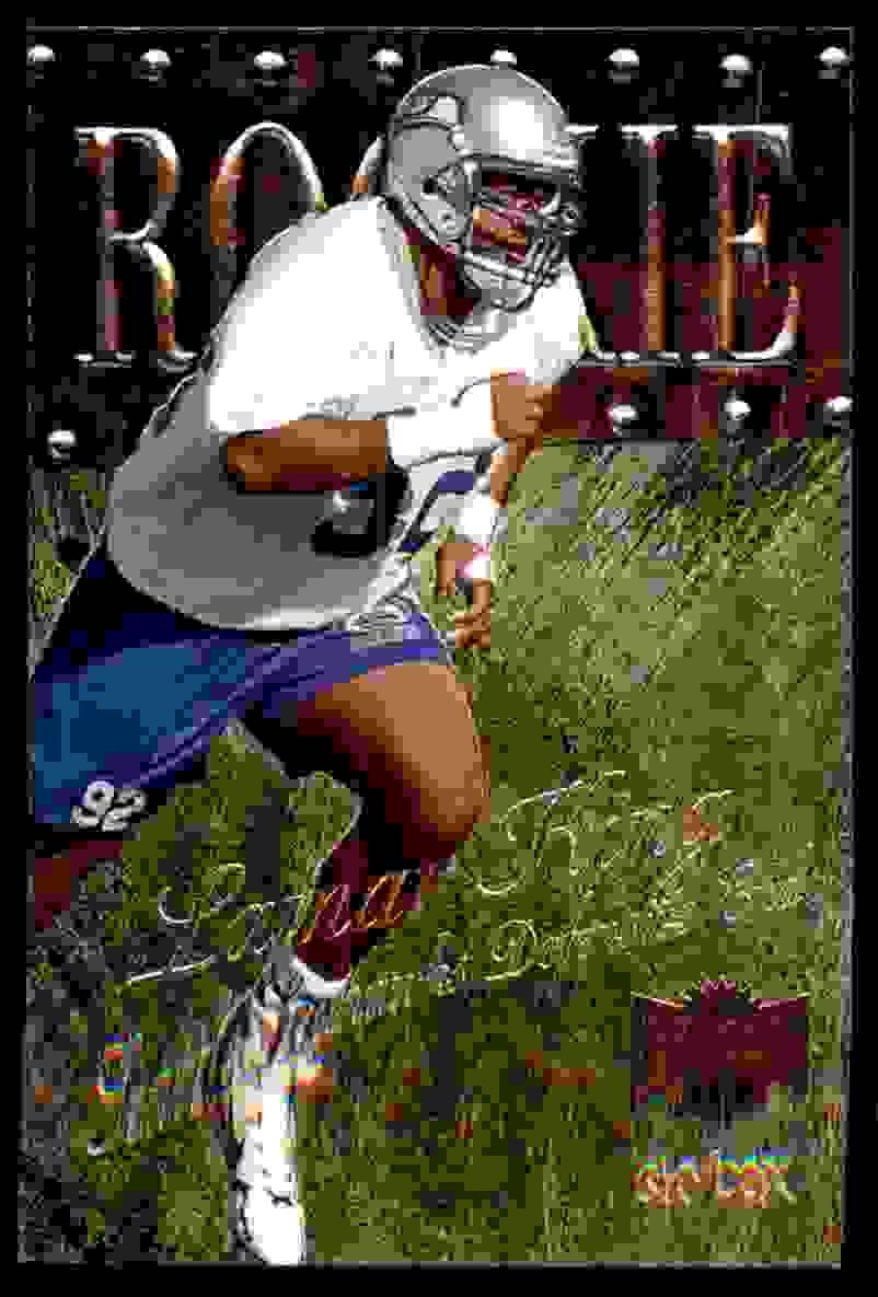 1999 Metal Universe Lamar King #237 card front image