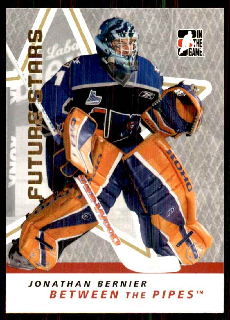 2006-07 Between The Pipes Jonathan Bernier #24 card front image