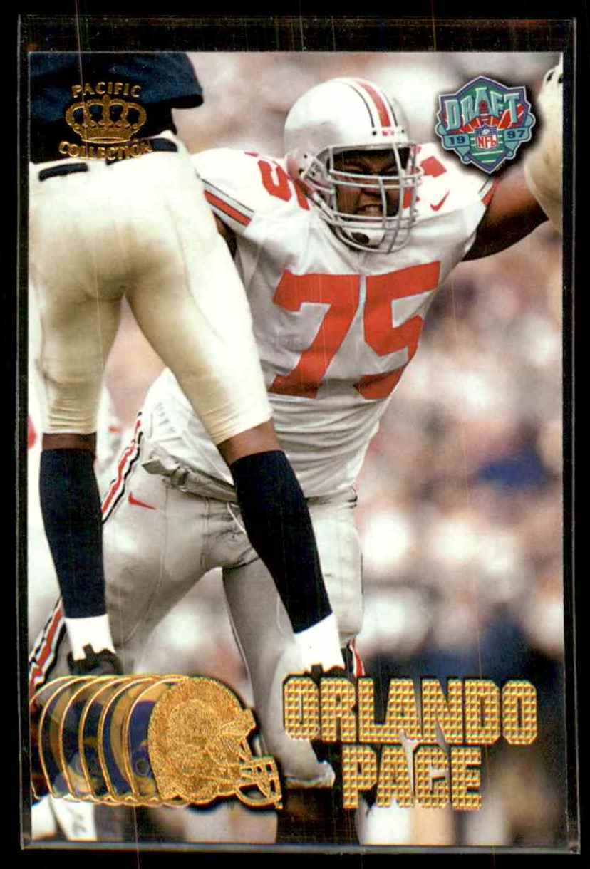 1997 Pacific Orlando Pace #441 card front image