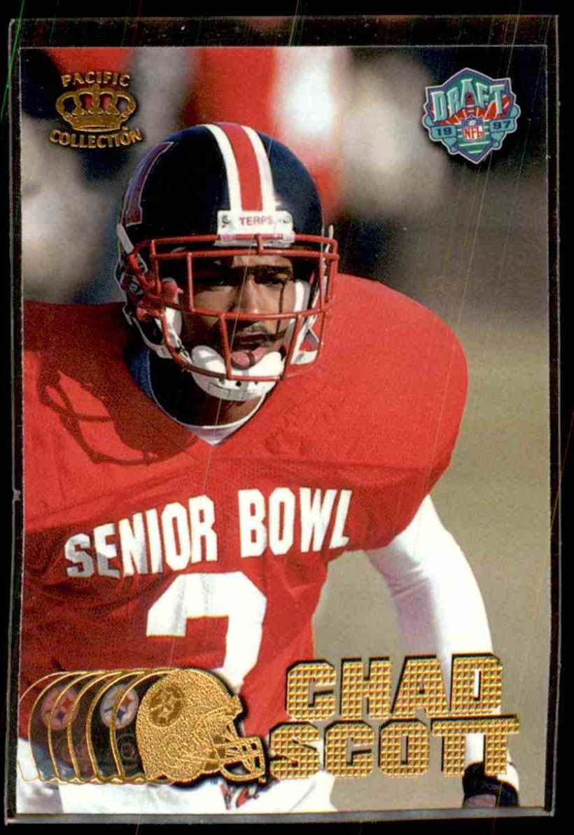 1997 Pacific Chad Scott #443 card front image
