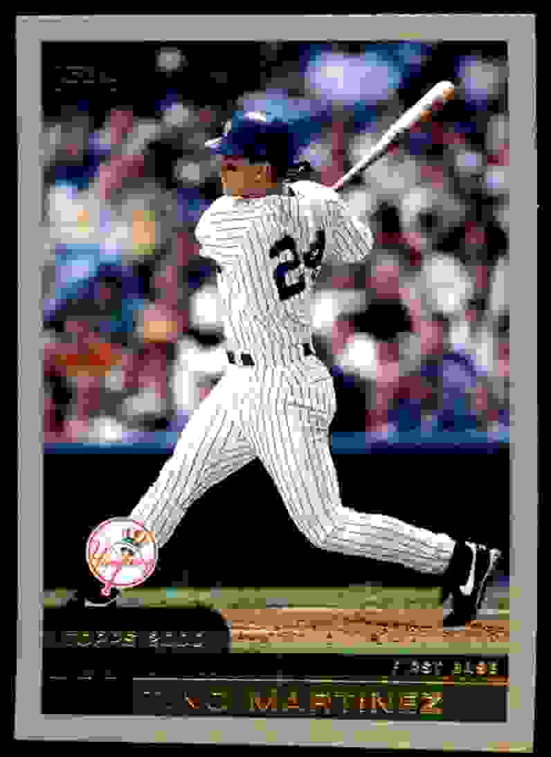2000 Topps Tino Martinez #370 card front image