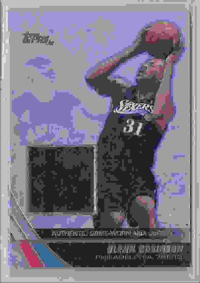 2003-04 Topps Jersey Edition Glenn Robinson #GR card front image