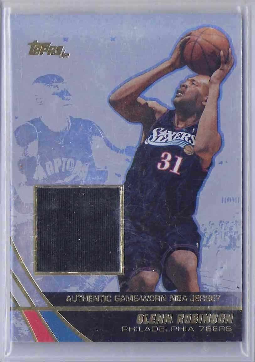 2003-04 Topps Jersey Edition Glenn Robinson #GR card front image