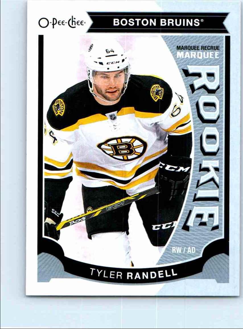 2015-16 O-Pee-Chee Platinum Update Rookie Tyler Randell #U34 card front image